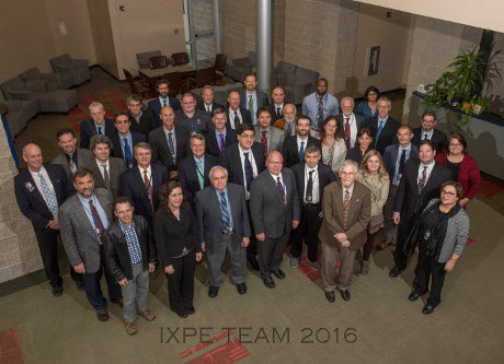 Group picture of IXPE team.